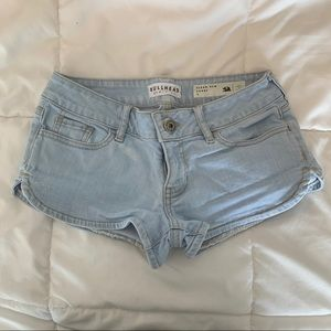 Pacsun bullhead light blue denim shorts size 1